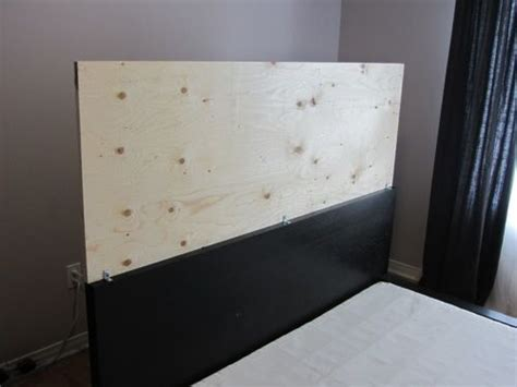 Ikea Malm Headboard Domestic Restylings An Upholstered Headboard For The Malm Bedframe Masterchambre