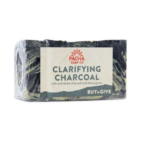 Borba Clarifying Chocolate Bar by Clarifying Charcoal Bar Soap By Pacha Soap Thrive Market