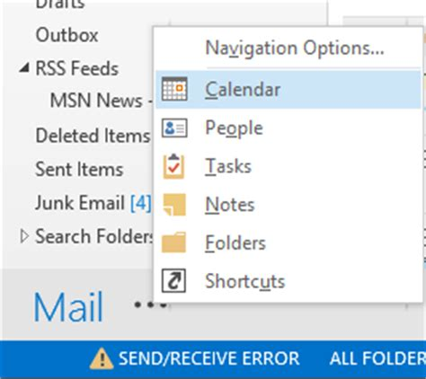 Office 365 Mail Won T Load How To Show And Disable Calendar Peek View In Outlook