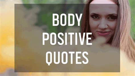 body positive quotes  boost   esteem youtube