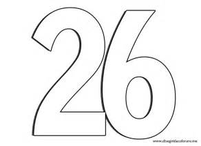 numeros colouring pages 2