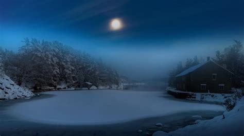 frozen lake   moonlight hd wallpaper wallpaper studio  tens  thousands hd