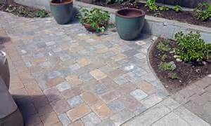 paver extension project ajb landscaping fence