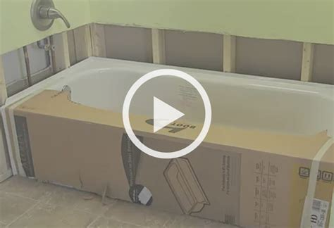 bathtub video how to remove and replace a bathtub at the home depot