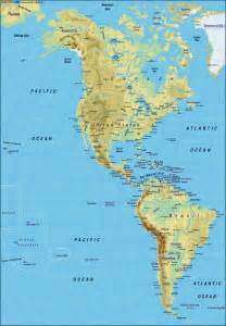 map of america map of the world physical map in the
