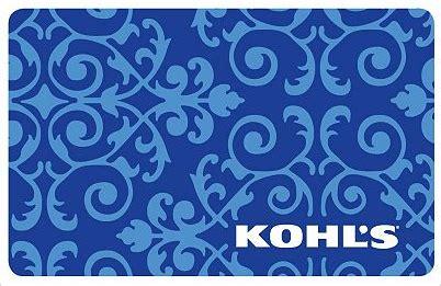 Khols Gift Card - 50 kohl s gift card giveaway