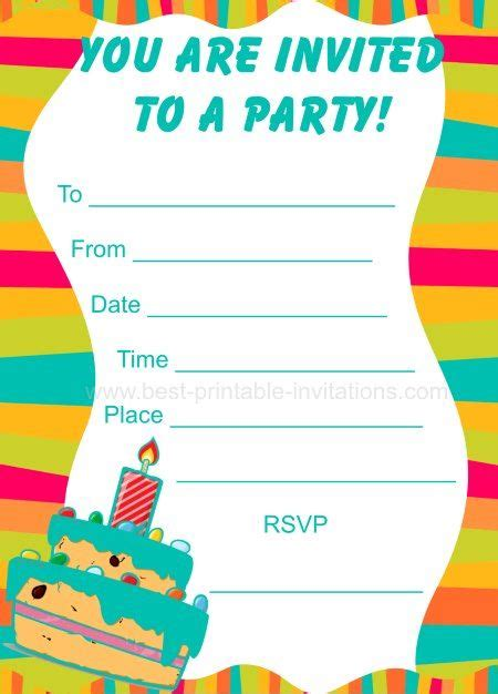 printable invitations birthday boy 22 best images about printable invitations on pinterest