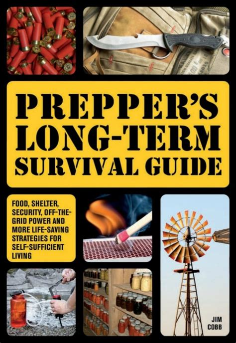 survival books prepper s term survival guide by jim cobb book