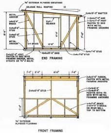 Build Blueprints blueprints for building a shed 12 215 12 shed blueprints