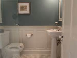 Wainscoting Ideas For Bathrooms wainscot paneling bathroom home design ideas