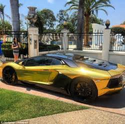 A Gold Lamborghini The Candyman Travers Beynon Adds A Gold Plated Lamborghini