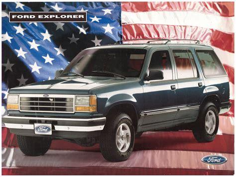 old car owners manuals 2001 ford explorer regenerative braking 1994 1997 ford explorer brochure