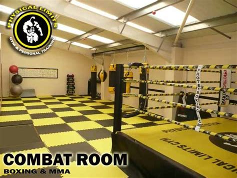 Boxing Room by Physical Limits The Only Limit Is The One You Set Yourself