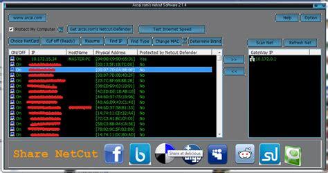 tutorial netcut tutorial menggunakan netcut dan cara mengatasinya dengan