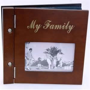 wooden photo album my family wooden photo album