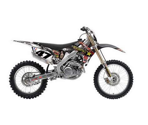 One Graphic 12 one industries h h rockstar graphics honda crf450 09 12