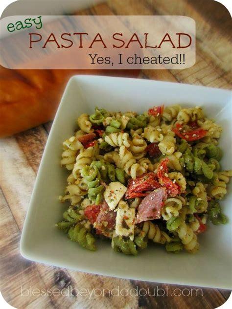 easy cold pasta salad easy cold pasta salad recipe