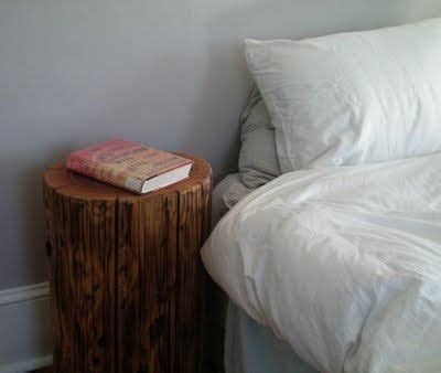 Tree Stump Nightstand Tree Stump Stand Repurposed Pinterest