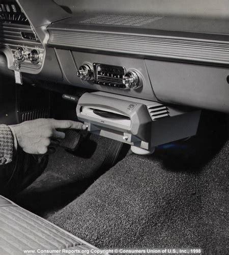 car recording consumer reports vintage test photos
