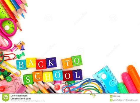 back to school clipart back to school border clipart 101 clip