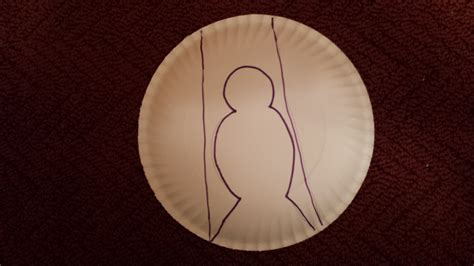 dove crafts using paper plates