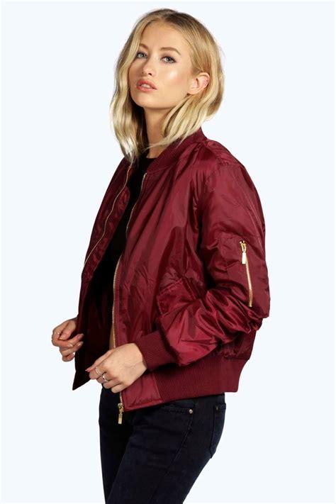 bomber jacket boohoo womens khloe ma1 bomber jacket ebay