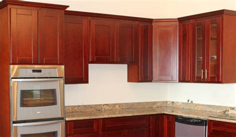 shaker cherry kitchen cabinets cherry shaker cabinets beaverton kitchen cabinets