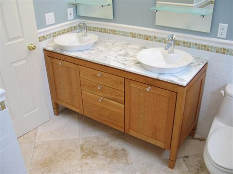 Bathroom Vanity Remodel by Bathroom Remodeling Indianapolis Contractor