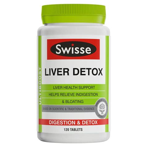 Liver Detox by Buy Swisse Ultiboost Liver Detox 120 Tablets At