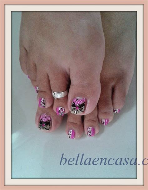 imagenes uñas decoradas delos pies u 241 as bellas para los pies