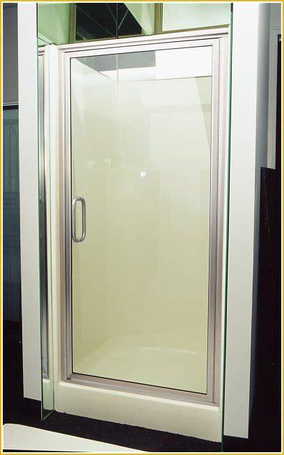 Lakes Shower Door Nickel 1 Shower Door