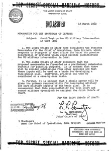 Militarizing Culture Essays On The Warfare State by Operation Northwoods