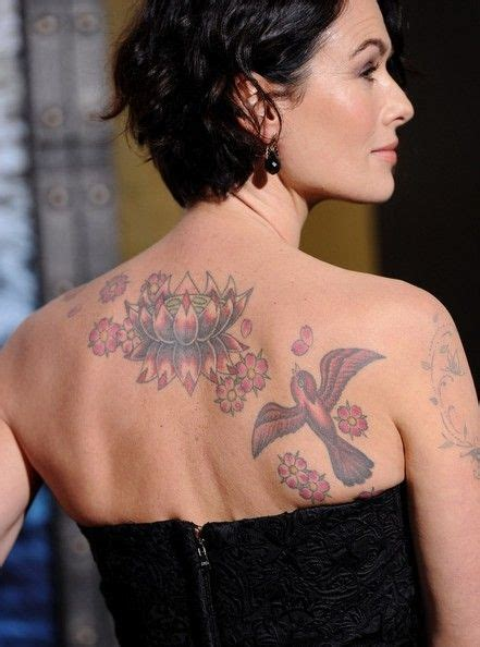 lena headey tattoo lena headey photos photos 300 rise of an empire world