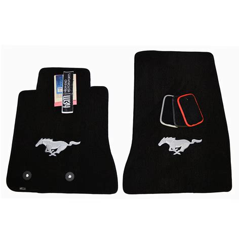 ford mustang floor mats running pony