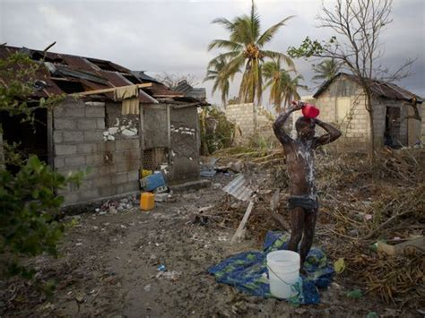 Three Story Houses one week after matthew this is what haiti looks like
