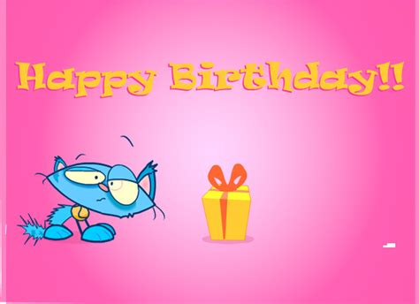Animated Child Birthday Card Ecards Birthday Surprise