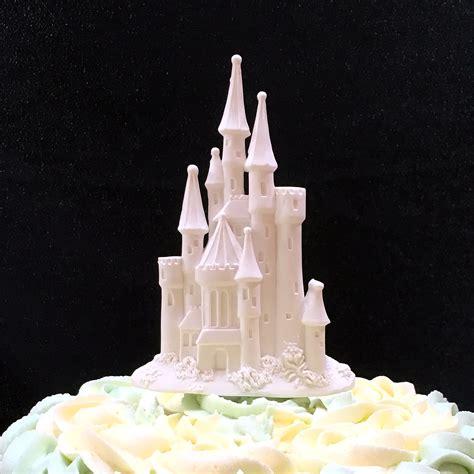 Topper Background Castle sugarcraft fairytale castle cake topper