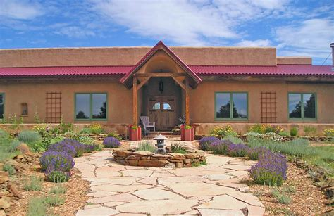 southwest mountain home for sale in colorado strawbale