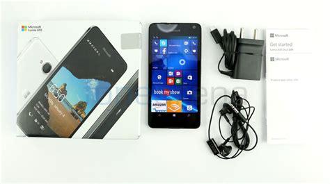 microsoft dual sim lumia 650 microsoft lumia 650 dual sim unboxing
