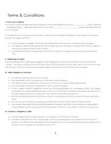 contract terms and conditions template 38 brilliant sles of blank contract forms thogati