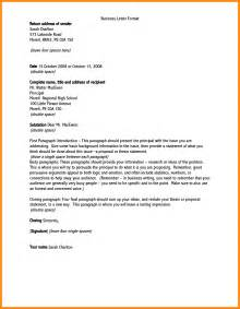 Official Letter How To 5 How To Address A Business Letter Resumed