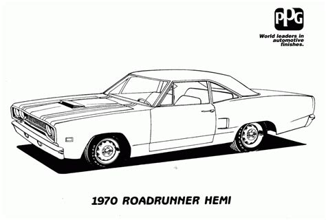 coloring page muscle cars muscle car coloring pages az coloring pages