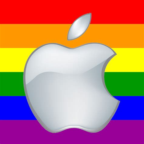 Mac Pride Pins Made From Apple by Apple Contingent Marches In Pride Parade The Mac Observer