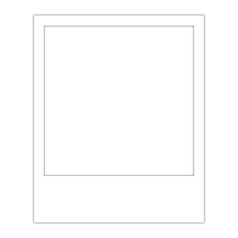 Polaroid Frame Template Overlay Transparent Polaroid Template App