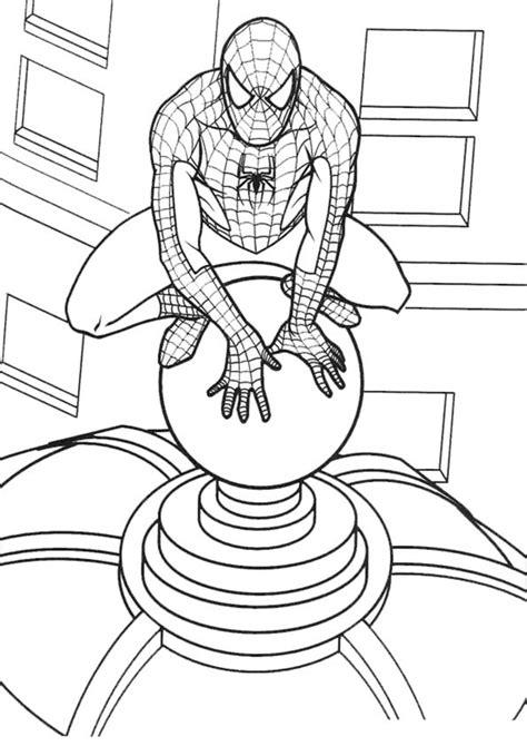 imagenes para colorear spiderman free coloring pages of hombre ara 241 a negro