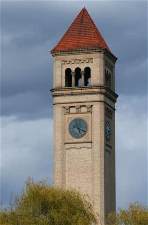 colville wa city center clock tower photo picture picture of clock tower spokane wa planetware no
