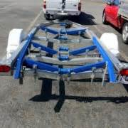 angled boat trailer fenders ribbed trailer bunks 70mm x 40mm with 45 degree bends