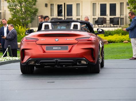 2019 Bmw Z4 by Live Photos 2019 Bmw Z4 M40i At Pebble