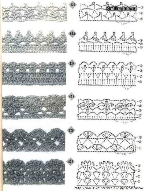 crochet lace diagram crochet lace edging with diagrams 06 crochet
