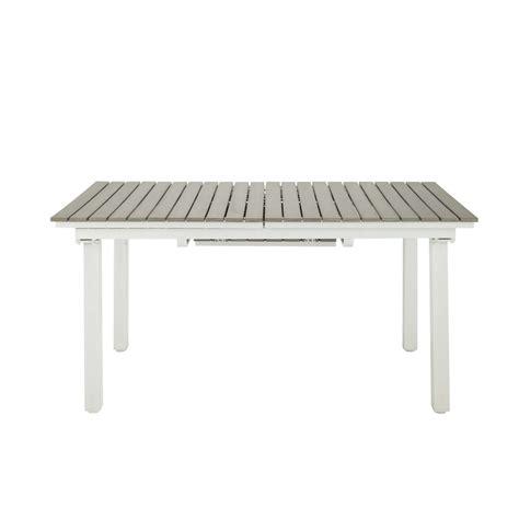 tavolo da esterno allungabile tavolo allungabile da giardino in materiale composito